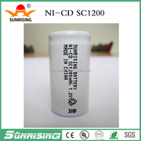 NiCd Rechargeable battery sc1200 ni cd battery pack