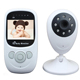 2.4 inch TFT LCD Wireless Wifi IP Video Camera Baby Monitor with Micro SD Card Slot
