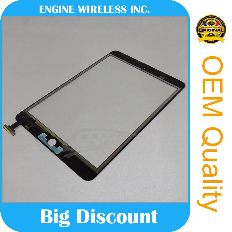 The new for ipad mini touch screen digitizer with ic connector