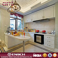 Modular kitchen fashion style cabinets new model cabinet with white lacquer surface