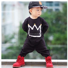 2017 new fashion boy clothes long sleeve adult baby onesie