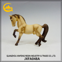 Resin decorative horse sculpture