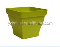 indoor square gardening flower plant pots