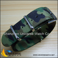 18mm military army boy's CAMO watch band UN1492