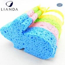 high absorbent cellulose sponge,wood pulp cotton,100% natural cellulose sponge