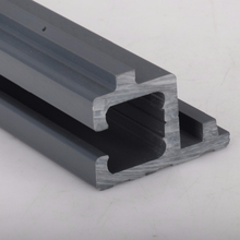 China top quality plastic extruded upvc/pvc profiles for sliding glass window