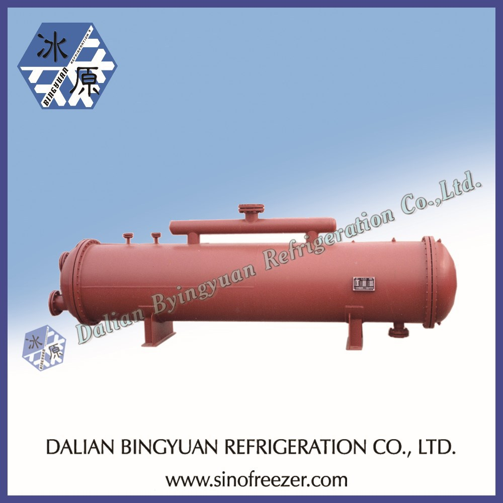 horizontal condenser for block ice maker