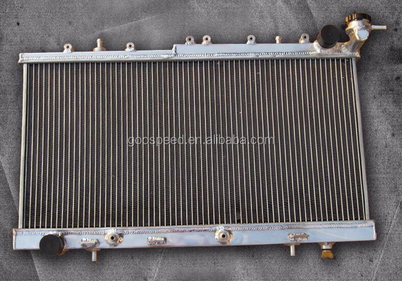 3rows performance aluminum radiator for 91-99 Sentra w/ SR20, Manual