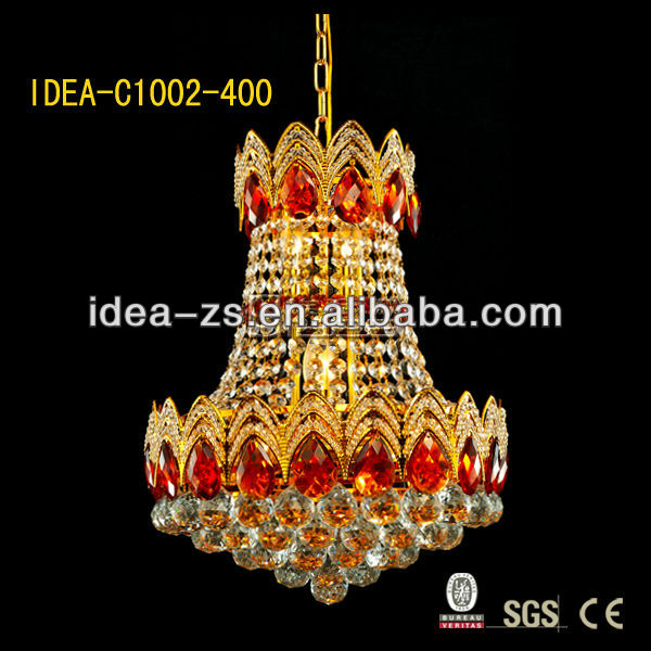 C1002-D300mm crystal chandelier ligthing lamp China Zhongshan Guzhen idea laidi factory