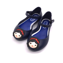 New Design Cheap Price Kids PVC Jelly shoes new Sandals with fashion sticker
