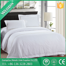 Guangzhou factory WEISDIN brand embroidery style twin size bedding set wholesale