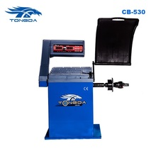2017 wheel balancing machine CB 530 Tire Machine CE Approved Hand Spin manual wheel balancer