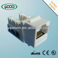 A92 Popluar sale new amp rj45 utp connector with 90 degree