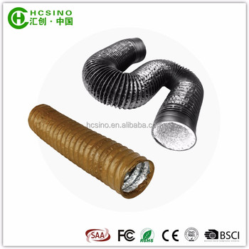 PVC & Aluminium Composited Pipe Flexible Air Duct