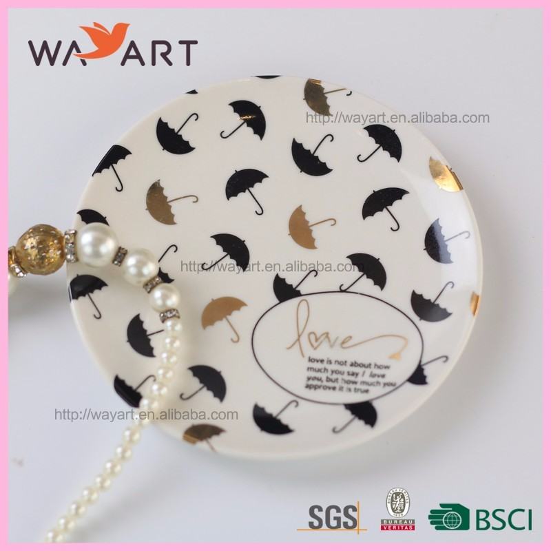 Delicate White Round Shaped Ceramic Charge Plate Buy Charge