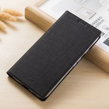 Vili Canvas Smart Wake Sleep Case for Nokia 8 Leather Soft TPU Case for Nokia 8 with Card Holder and Stand