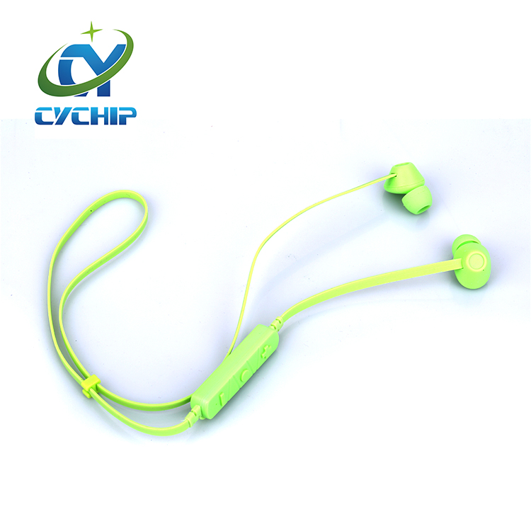 Mini handsfree waterproof sport bluetooth headset with mic for iphone