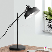 modern nordic vintage home decorative study table desk reading lamp made in china factory