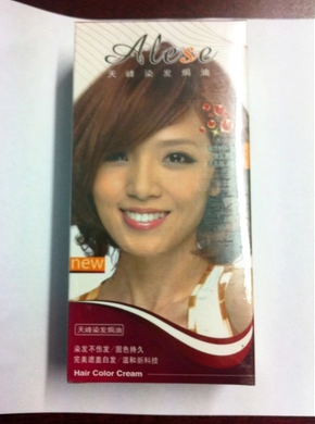 Private Label Hair Color Cream Hair Dye Cream
