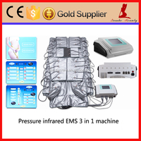 air pressure massage lymphatic drainage machine 3 in 1 EMS & pressotherapy device