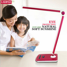 New products rechargeable foldable portable eye protection student table lamp /reading table led light with clip