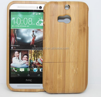 Two Parts Full Wooden covers For Bamboo Phone Case htc one M7/M8/M9