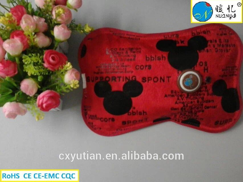 Rechargeable electric hot water bag /Cixi hand warmer hot water bag hot water bottle