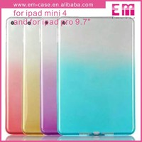 Gradient Candy Color Soft Case For iPad Tablet, TPU Case For iPad Mini For iPad Pro 9.7