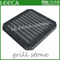 Hot steak grill lava stone for cooking