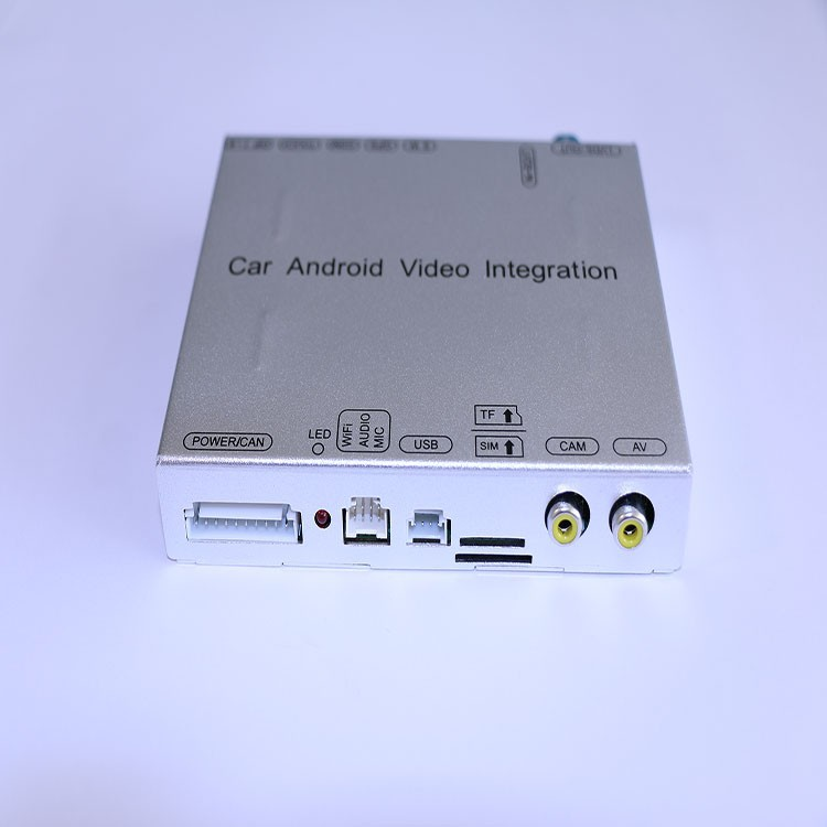 2017 Peugeot C108 Car Android Video Interface with CANBUS cable connection