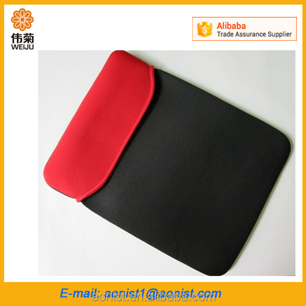 wholesale custom Laptop case neoprene laptop cover bag sleeve without zipper