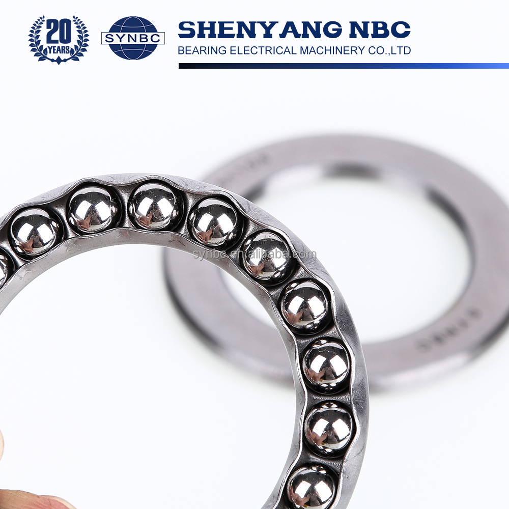 Factory Price Large Size Thrust Ball Bearings 51202 China Manufacture