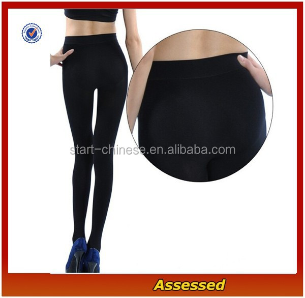 High Quality Completely Seamless Black and Thick Women Leggings Tights/Custom Sexy Pantyhose For Women---AMY150231