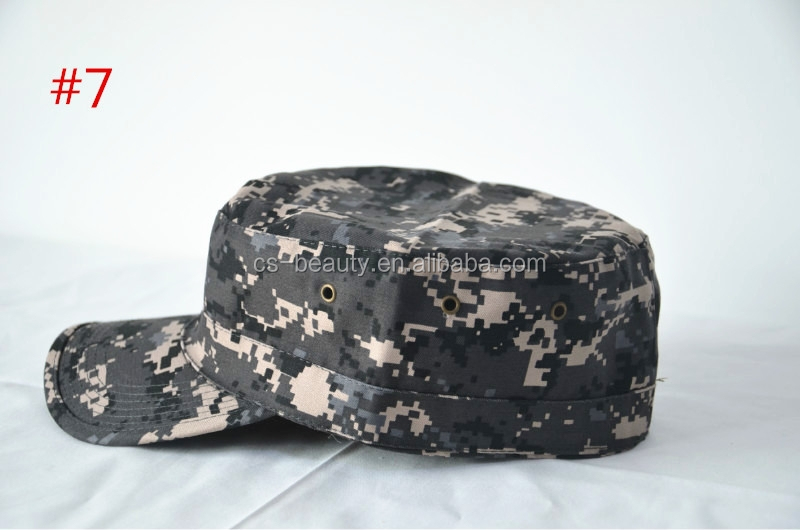9color Tactica Washed Military Cadet Patrol visor Caps hunting army Hats
