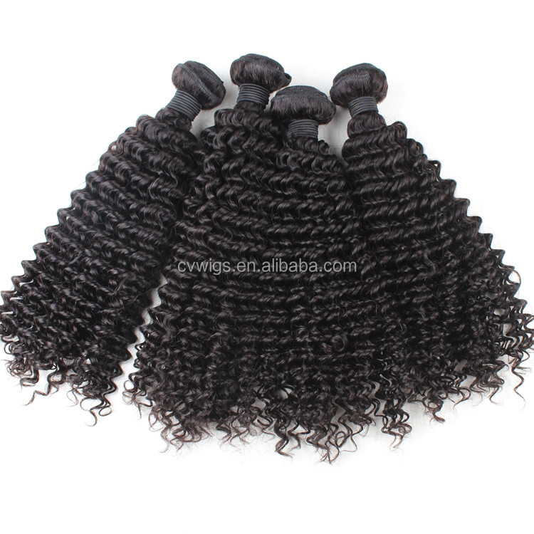 Kinky curly hair weave names of hair extension wholesale 100% virgin raw unprocessed cheap Brazilian human hair