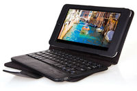 Removable Bluetooth Keyboard + PU Leather Case For Asus MeMO Pad HD 7 ME173X
