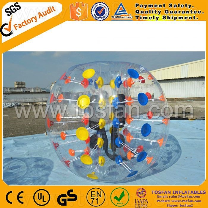 Factory PVC/TPU material bumper ball inflatable belly bumper ball TB271