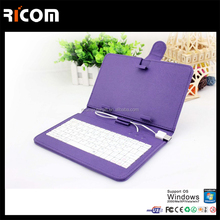 mobile phone leather keyboard case For ipad air 2 keyboard case-BK510B-Shenzhen Ricom