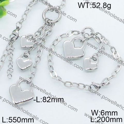 custom stainlessBest selling jewelry set fashion jewelry for 1.00