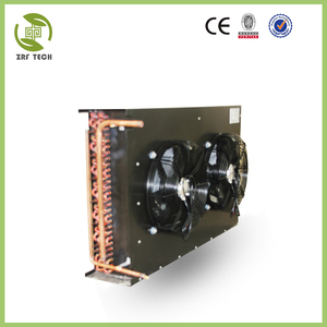 high quality air unit condenser of coiled copper heating fin tube