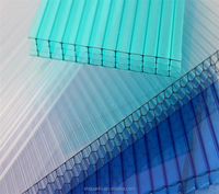 polycarbonate sheet plastic corrugated roofing sheet fast to install 18mm with 10-year guarantee