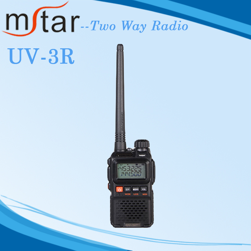 Baofeng dual band two way radio UV-3R