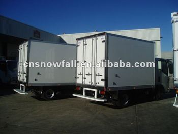 Truck box for refrigeration