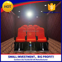 Hot Selling Business Investments 3/6 Dof Gun Shooting Motion 5D 6D 7D Cinema