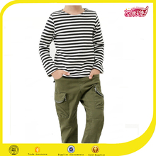 White and black strip long sleeve new style fashion boy's shirt importing baby clothes from china boys pant shirt