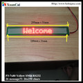 New! Ultra-thin P3-7X80 serial port single line LED message display/ Screen/panel/board