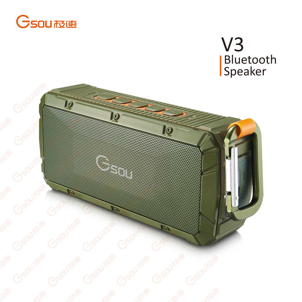 Waterproof Bluetooth speaker with mic, bluetooth speaker portable wireless mini, mini bluetooth speaker with fm radio