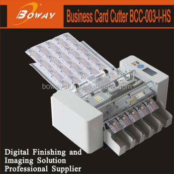 280 pieces cards/minute automatic A3 Business card cutter