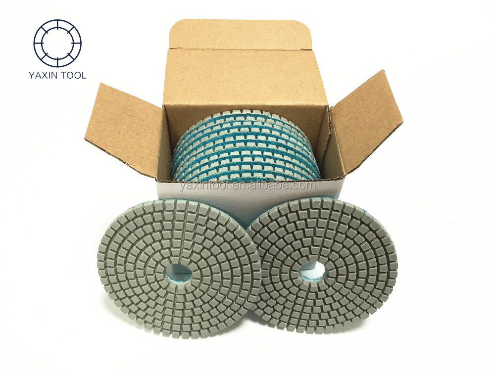 3-Step Concrete Diamond floor Polishing Pad