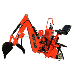 agriculture towable backhoe with CE